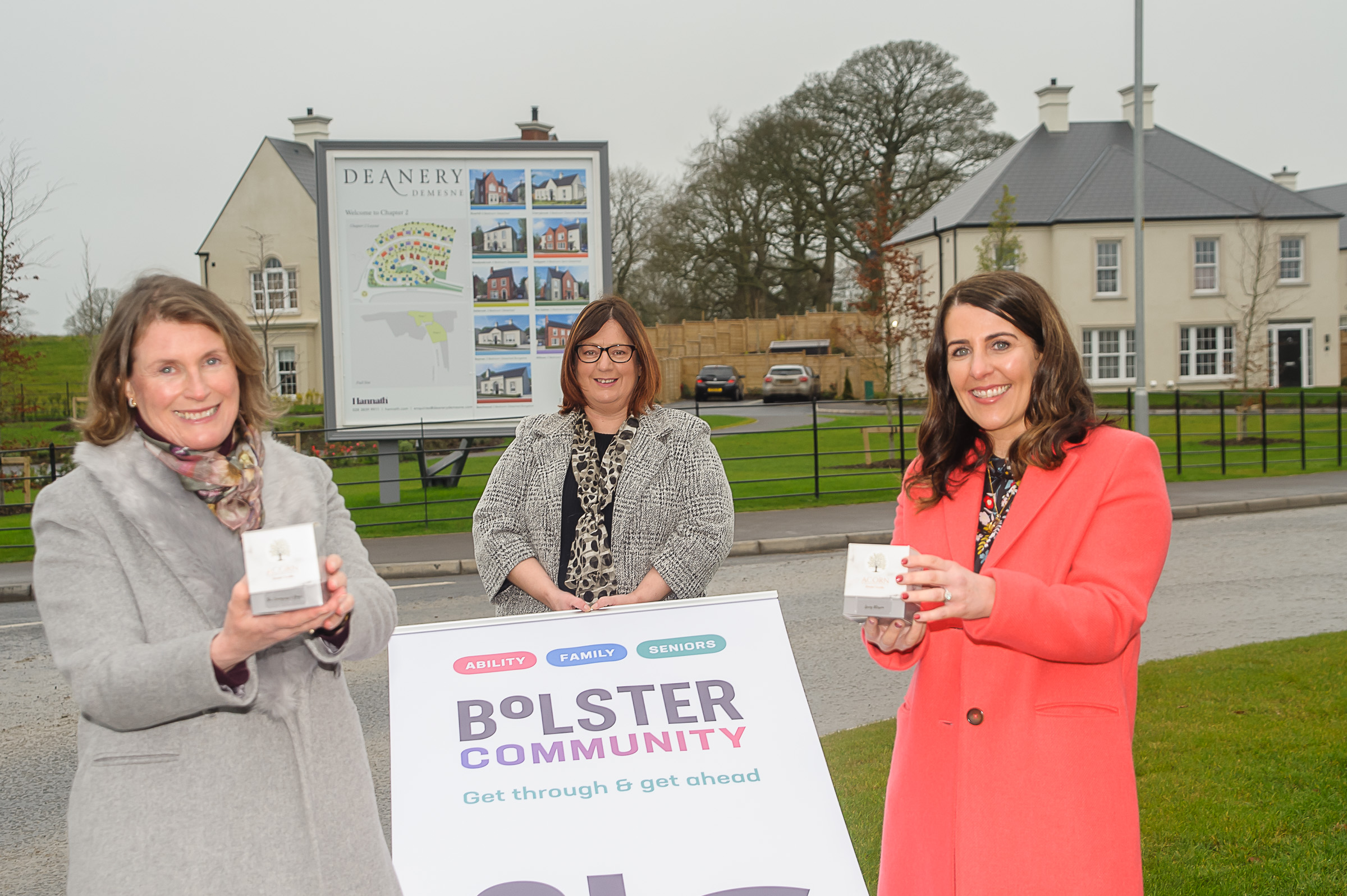 Deanery Demesne adopts 'buy social' partnership with Bolster Community to delight customers and give back to the local community
